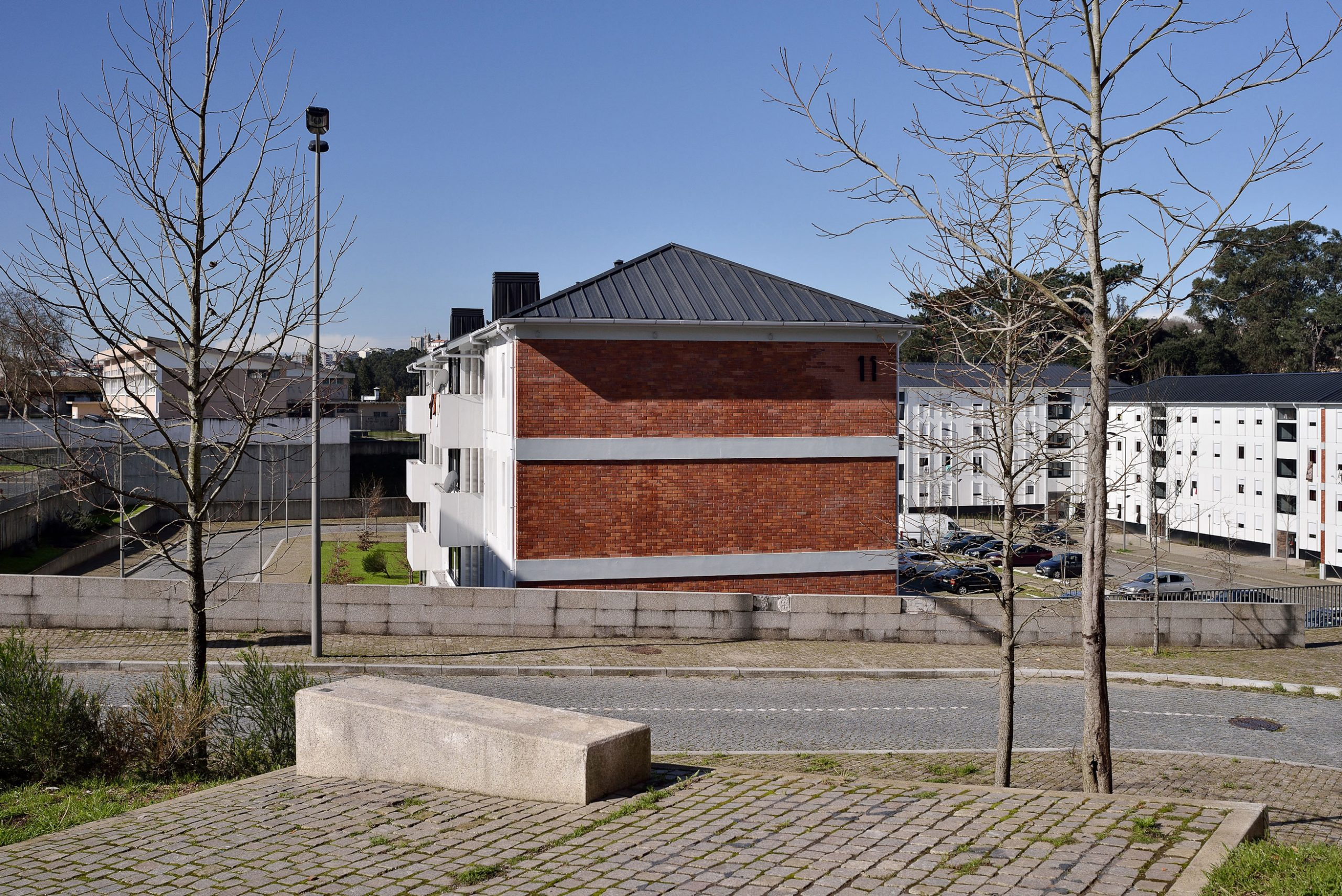 Building Renovations in Lagarteiro Neighborhood, Porto