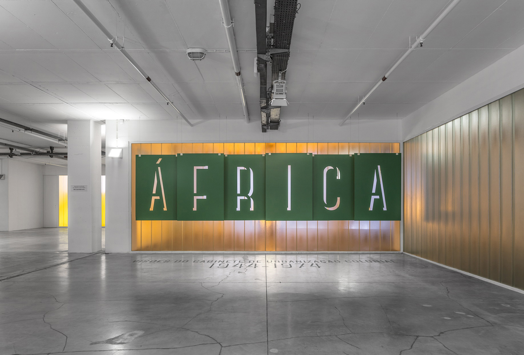 Exhibition 'Africa – Perspectives Of The Office Of Colonial Urbanization 1944-1974'