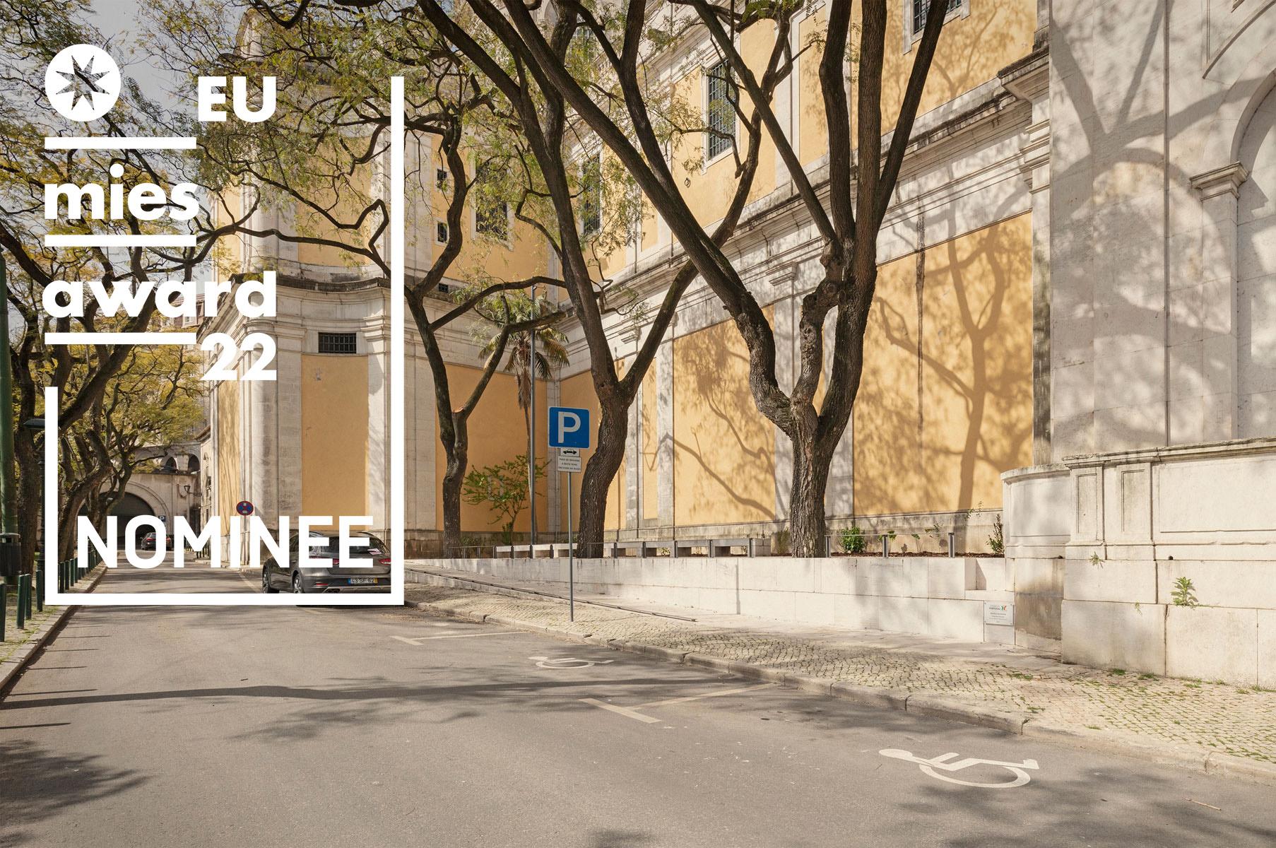 Accessible Path to Estrela Basilica, Lisbon